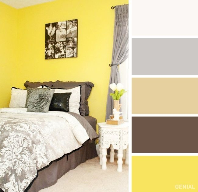 20 Perfectas combinaciones de colores para tu recámara Interior