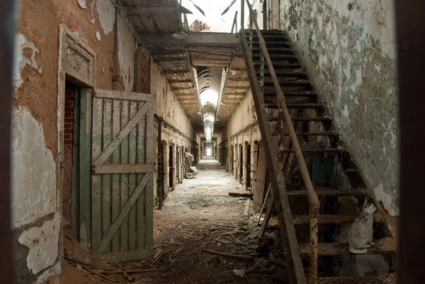 Eastern State Penitentiary Philadelphia PA Abandoned Detroit - Most eastern state of usa