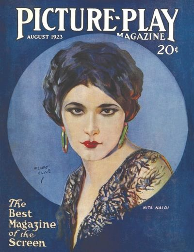 Picture-Play Magazine: Nita Naldi by Henry Clive 1923