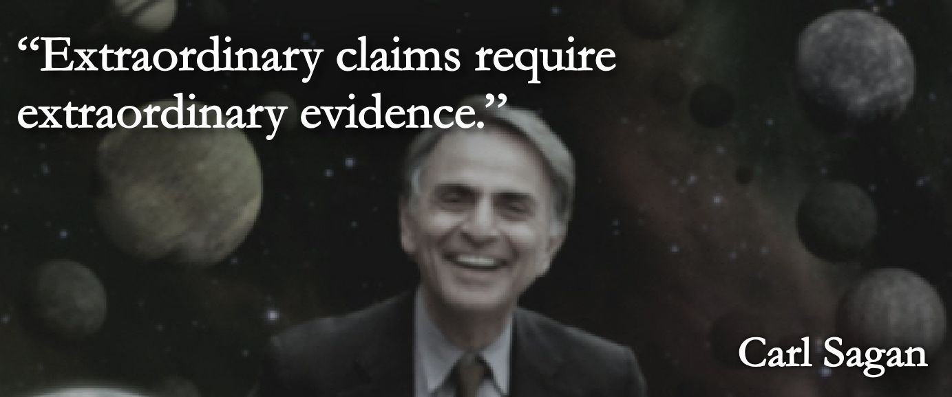 Image result for carl sagan extraordinary