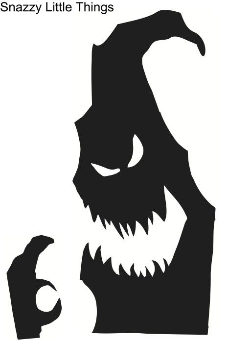 Photo of Halloween Window Silhouettes Free Download