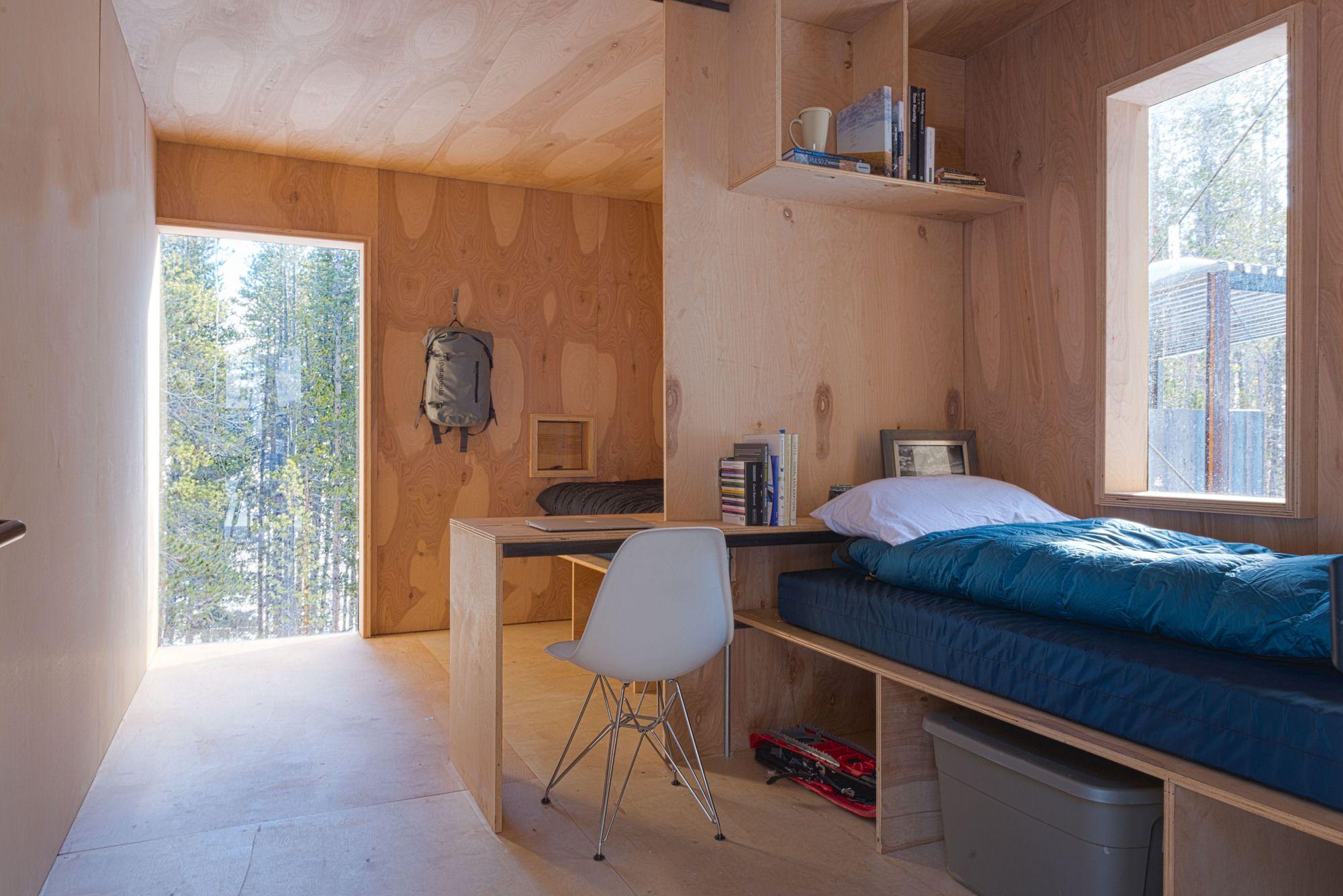 Gallery Of Colorado Outward Bound Micro Cabins University Denver