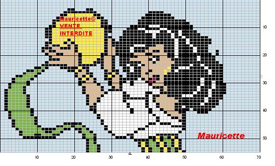 Esmeralda Perler Bead Pattern By Mauricette Image De