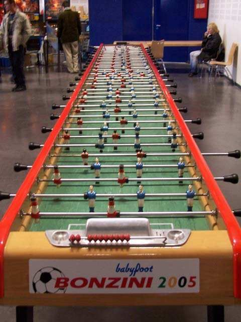 Extra Long Foosball Tables Are Something Of A Fad, And This Unbelievably  Long Version Has