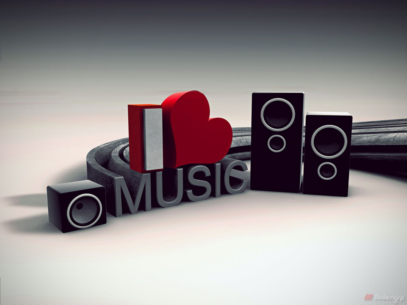 I Love Music 3d Abstact Wallpapers At Http Www Hdwallcloud Com I Love Music 3d Abstact Wallpapers Music Wallpaper Music Speakers Music Images