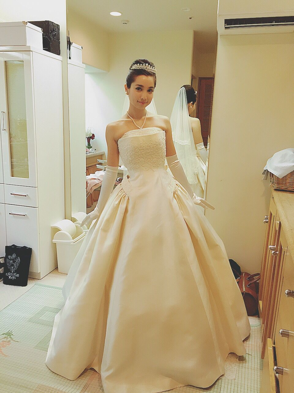 Bridal Fair Mother Agency Office Modeling Gown Dress Prom