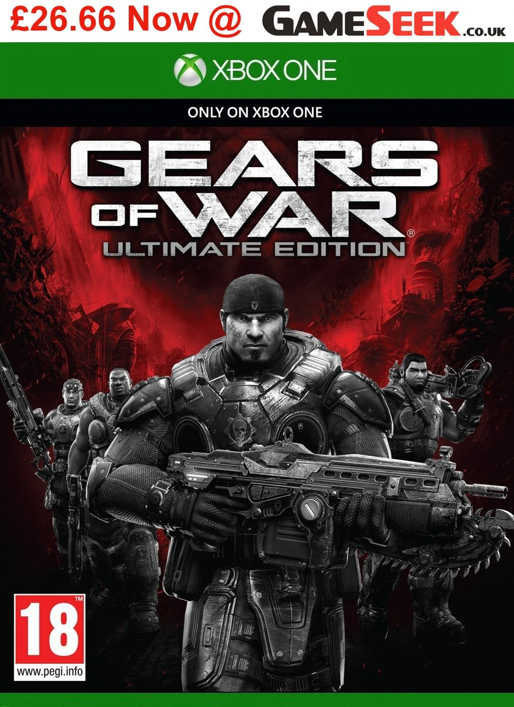 Xbox One Game Bundle 4 Games Gears Of War Ultimate Edition Disc Only Project Cars 2 Mad Max Mafia 3 Xbox One Games Game Bundle Xbox One
