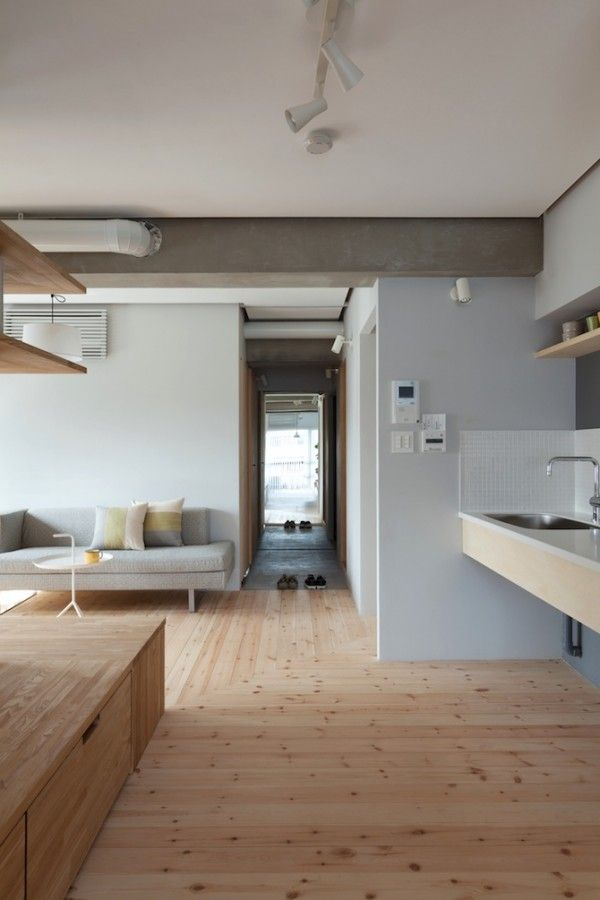 Two Apartments In Modern Minimalist Japanese Style (Includes Floor Plans) | Interior  Design Ideas