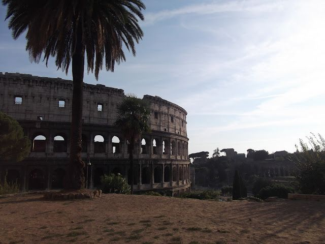 A quiet place near the Colosseo