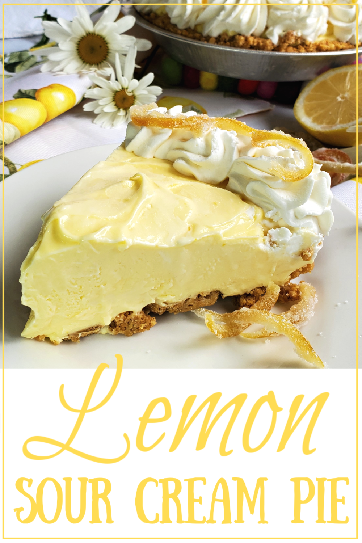 Lemon Sour Cream Pie Portlandia Pie Lady Recipe In 2020 Sour Cream Lemon Pie Recipe Lemon Recipes Lemon Sour Cream Pie