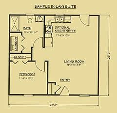 Pin By Rachel Davis Boles On Small Space Floor Plans Guest House Plans Guest House Small Granny Pods Guest Houses
