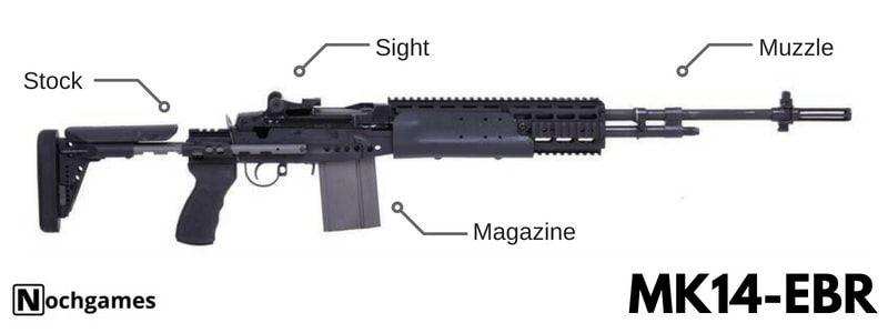pubg weapon guide mk14-ebr - nochgames | yigitin isleri