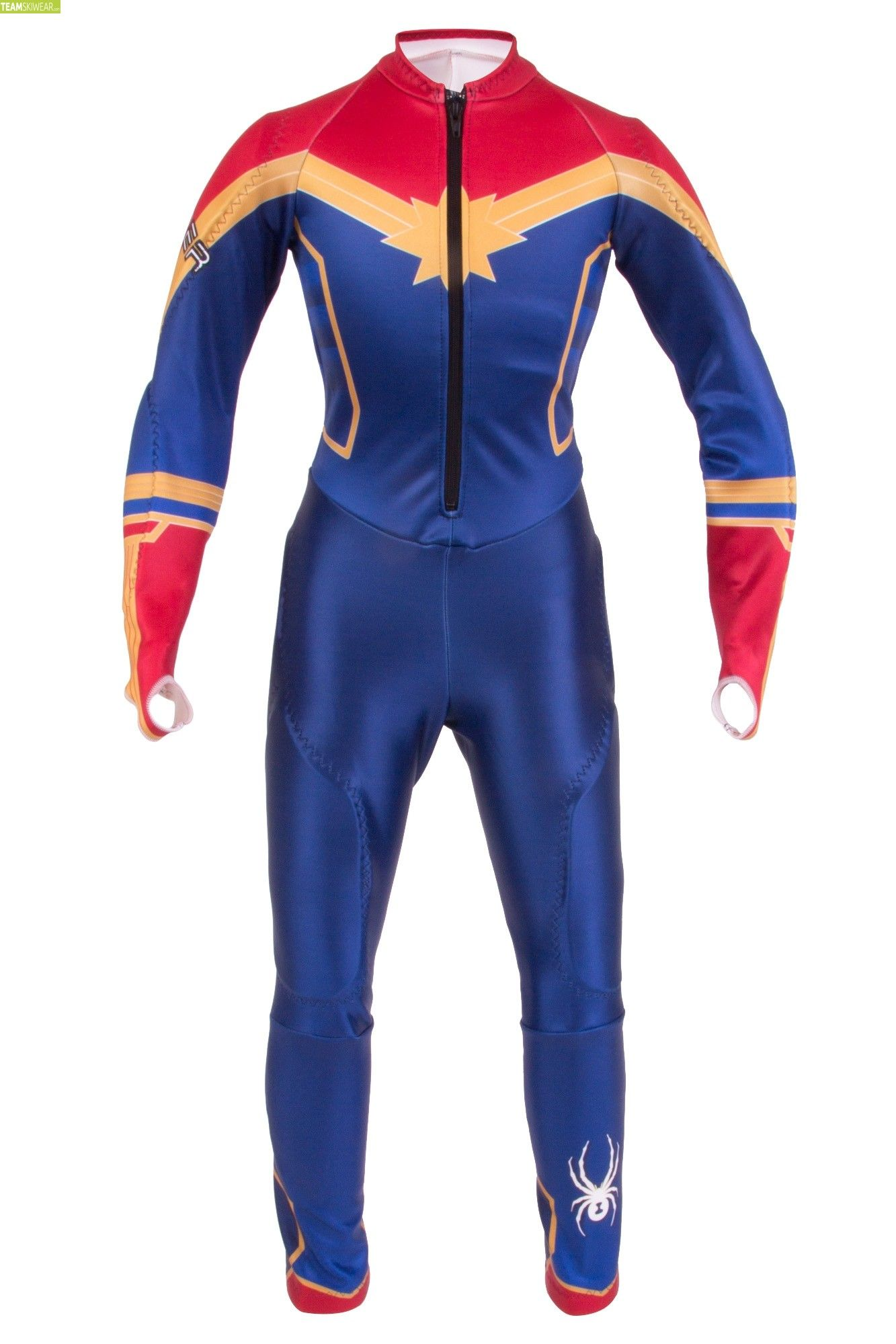 Spyder Girl Marvel Performance Limited Edition GS Race Suit - Captain Marvel c0eedffff946d