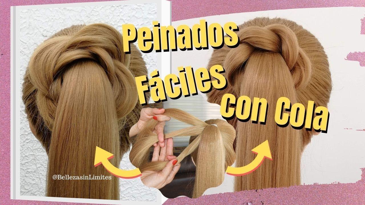 De última generación peinados para boda faciles y rapidos Imagen De Consejos De Color De Pelo - Peinados Fáciles con Cola/Coleta | Peinados faciles y ...