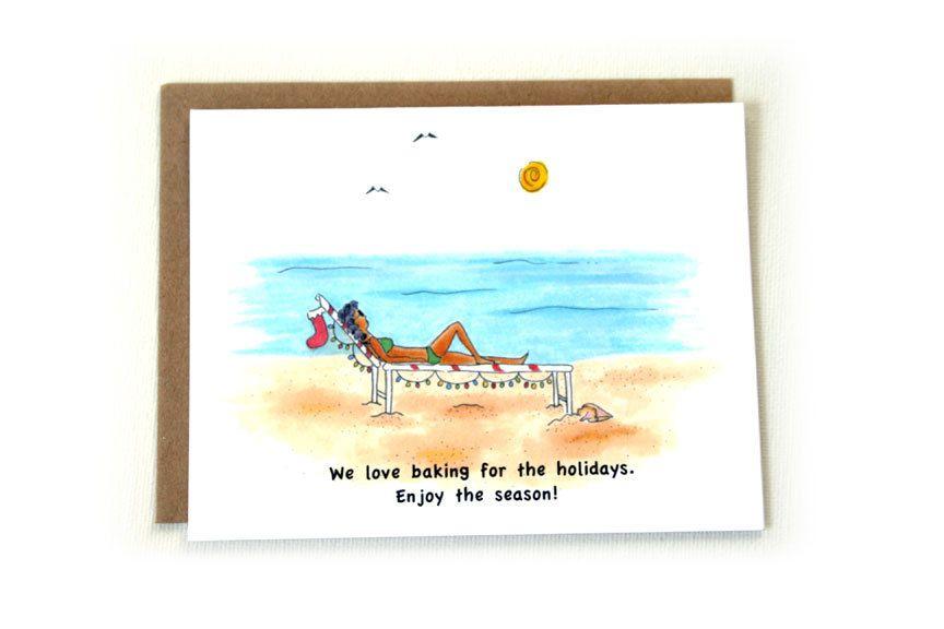 Christmas Cards: Holiday Baking, Coastal Christmas, Tropical ...