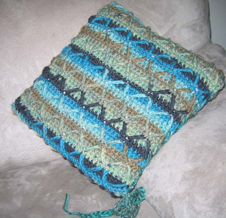Diamond Stitch Pillow