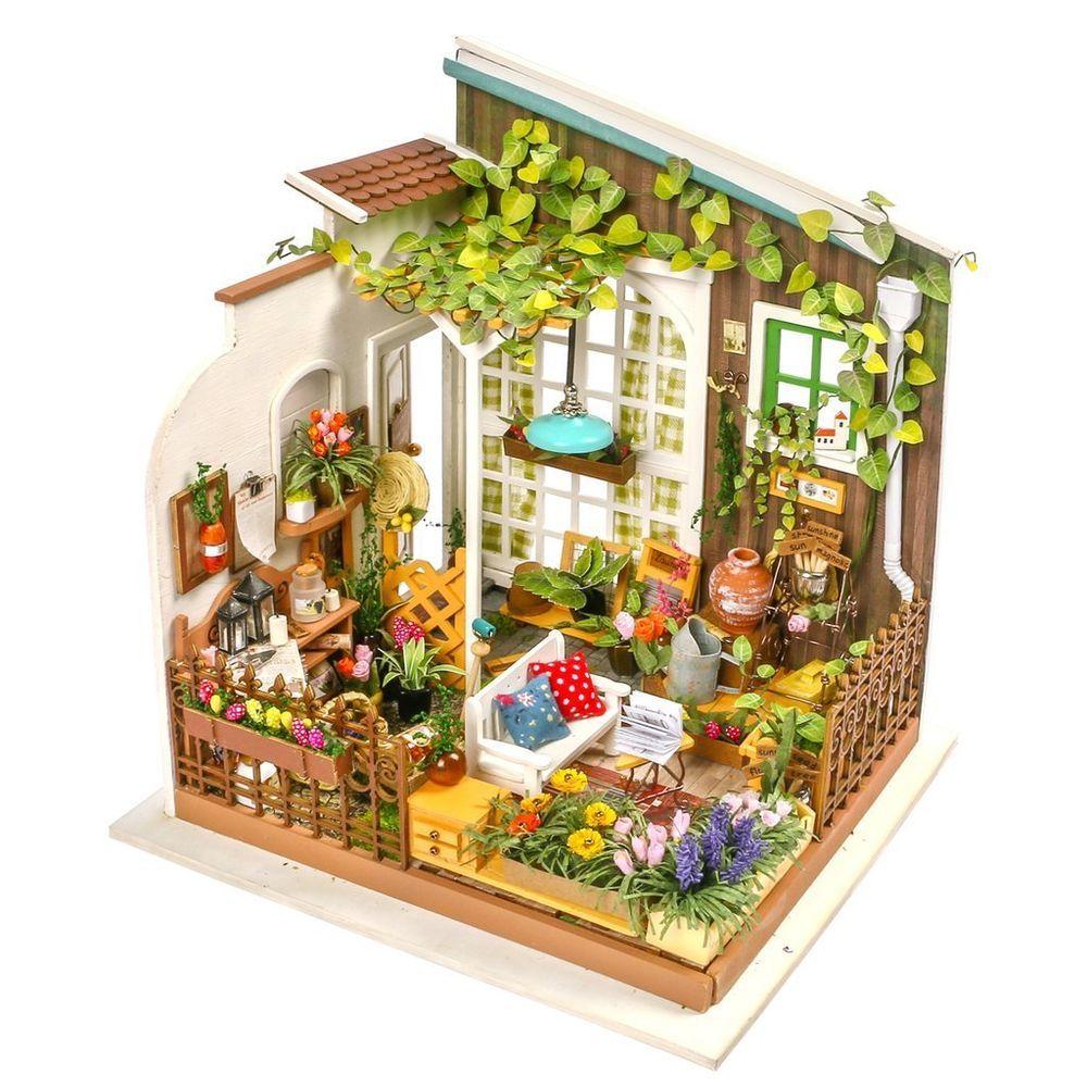 MILLER'S GARDEN DIY Miniature House Kit Robotime Rolife
