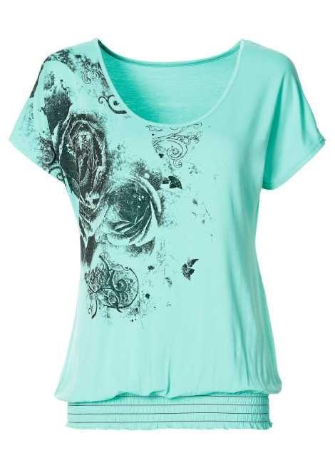 Shirt mint - Voor haar - bonprix.nl