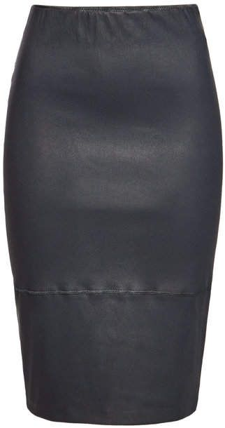 8b47dfddc9 By Malene Birger Stretch Leather Skirt in 2019   Products   Leather ...