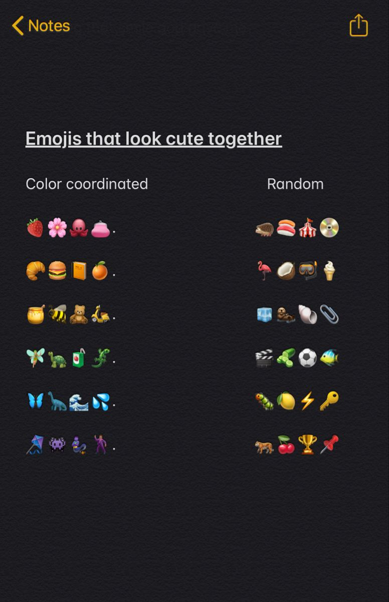 Emojis that look cute together in 2020 instagram quotes