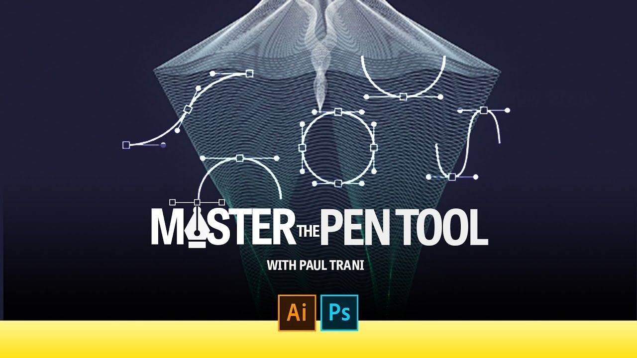 Learn how to use the pen tool the cornerstone of adobe learn how to use the pen tool the cornerstone of adobe illustrator and other apps like photoshop learn how to create lines and illustrations with baditri Choice Image