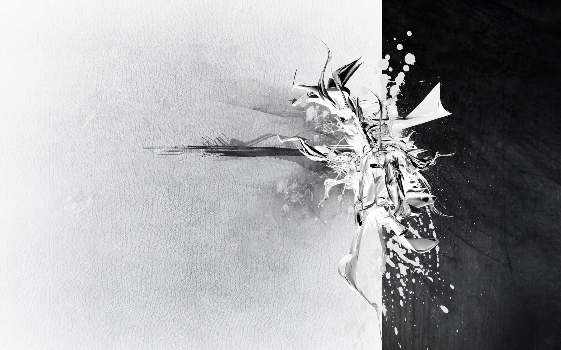 10 Top White And Black Abstract Wallpaper Full Hd 1920 1080
