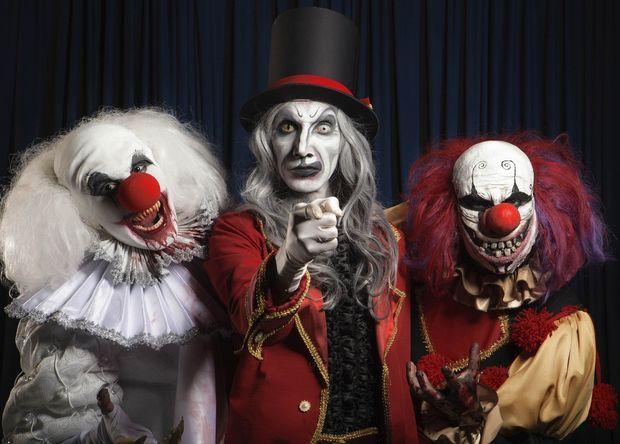 Halloween Thema.Halloween Thema Circus Google Zoeken Creepy Clowns