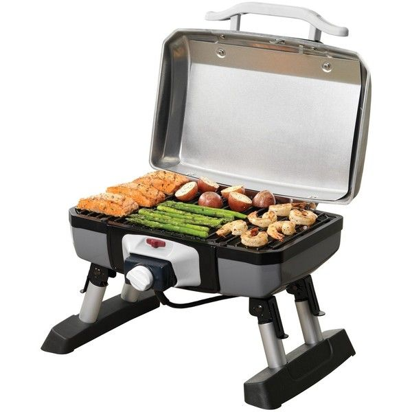 Cuisinart Outdoor Electric Tabletop Grill ($155) ❤ liked on ...