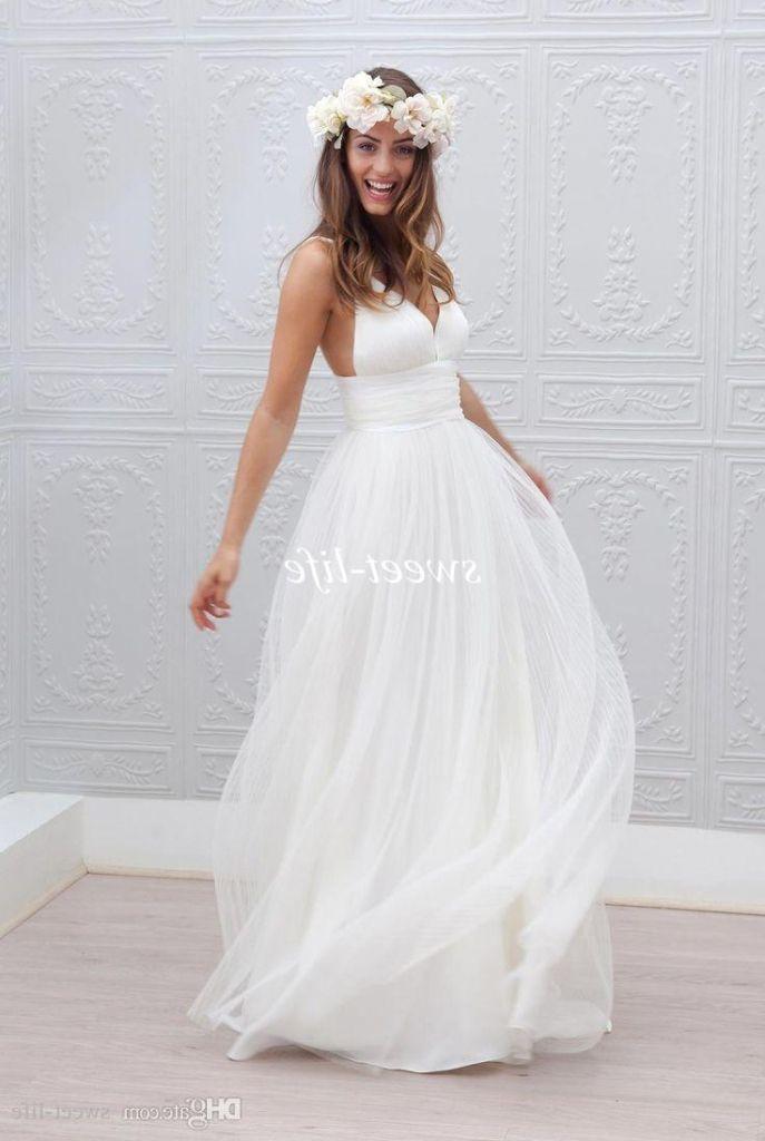 Simple Beige Wedding Dresses 2016 Httpmisskansasuscomsimple - Affordable Wedding Dresses Near Me