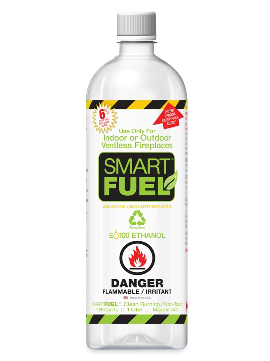 Anywhere Fireplace Smart Fuel Liquid Bio Ethanol 12 Liter Bottles