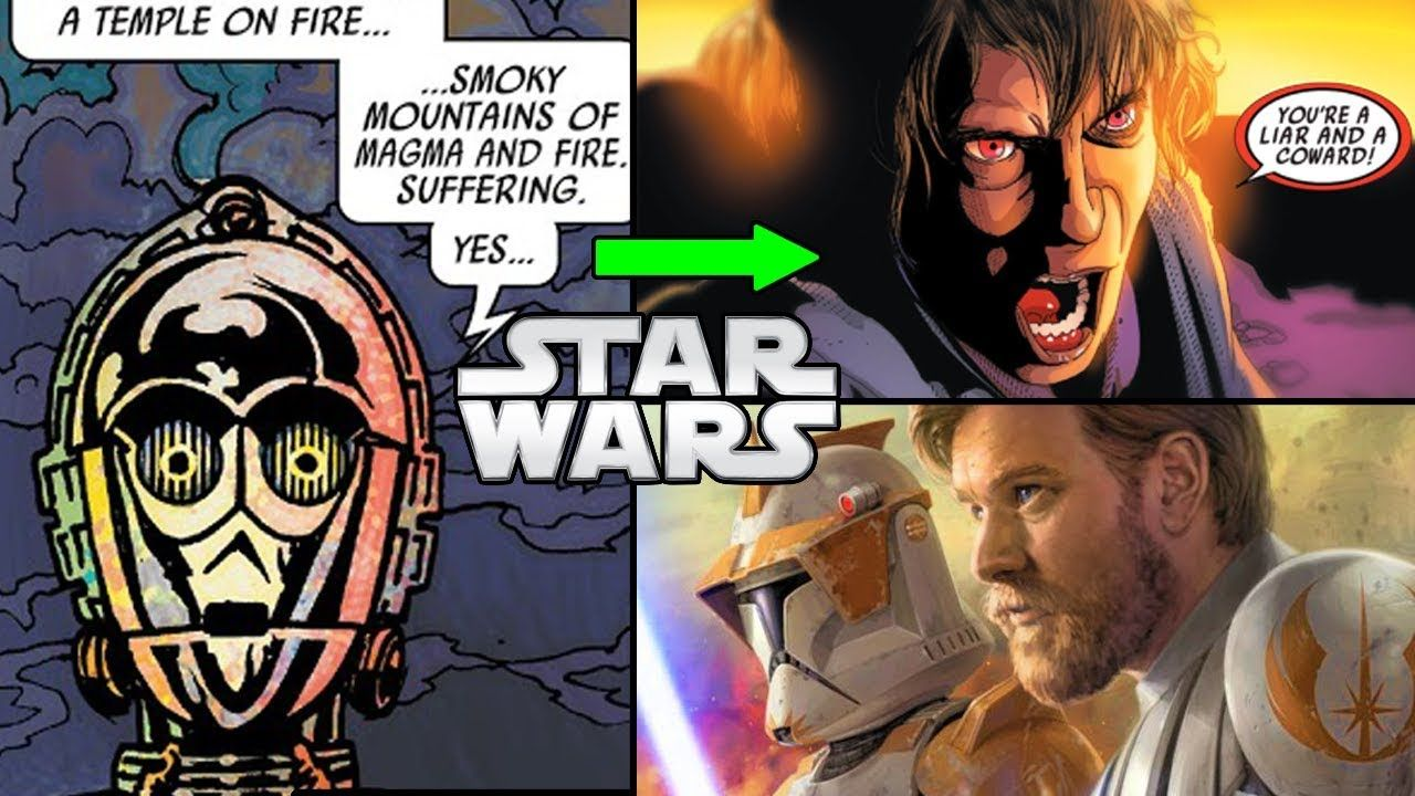 C 3po Remembers The Prequels Canon Star Wars Comics Explained Star Wars Comics Star Wars War