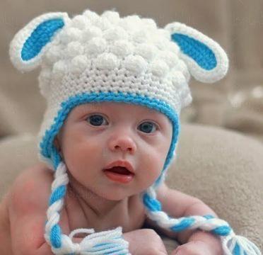 Bonnet d\'agneau - 13 tailles du nouveau né à l\'adulte - crochet ...