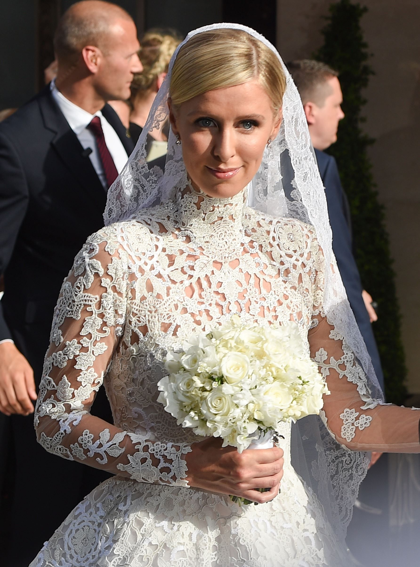 Nicky Hilton Is Married Modest Wedding Dresses Wedding Dresses Lace Wedding Dresses
