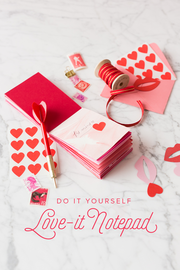 How to make a notepad tutorials gift and crafts how to make a notepad valentines diyvalentine day giftsvalentine solutioingenieria Images