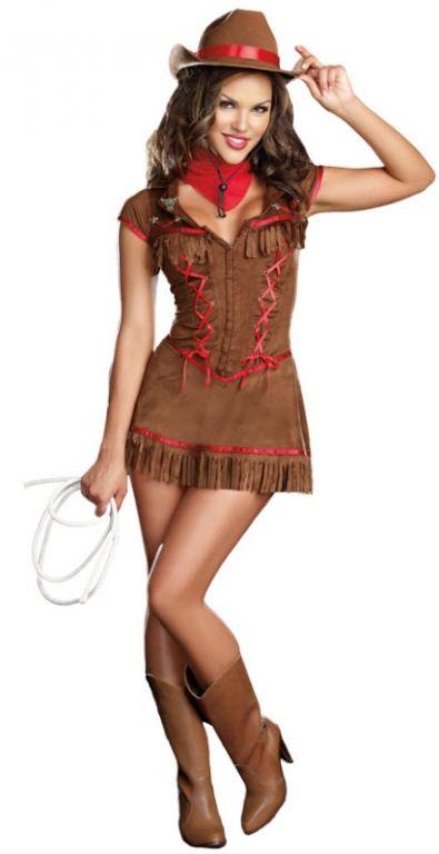 c12f7f3780 Sexy Cowgirl Costume - Adult Costumes Decoracion Tematica