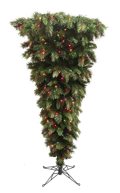 Upside Down Christmas Trees! How funny. You buy them this way. I once saw a tree … | Upside down ...