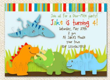 Dinosaur birthday invitations parties pinterest birthday party dinosaur birthday invitations by lollipopprints on etsy 1200 filmwisefo