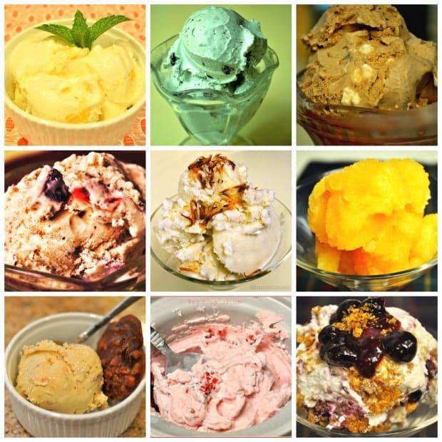 Chocolate Peanut Butter Ice Cream / The Grateful Girl Cooks!
