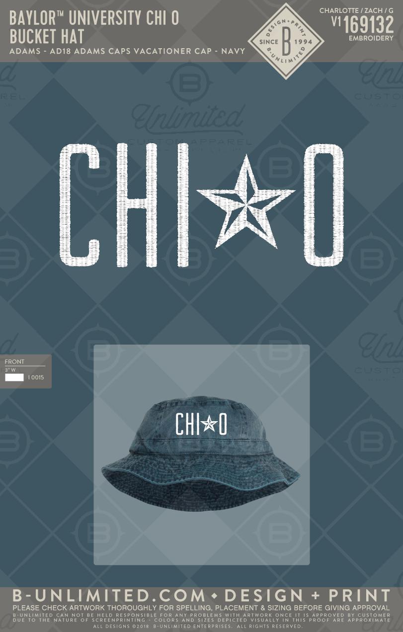 6c6d6e6b2b92b Chi O Bucket Hat! #BUonYOU #greek #greektshirts #greekshirts #sorority #hat  #PRdesign #springbreak #star