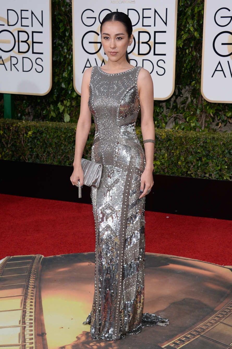 "NBC's ""73rd Annual Golden Globe Awards"" - Arrivals - Jane Wu"