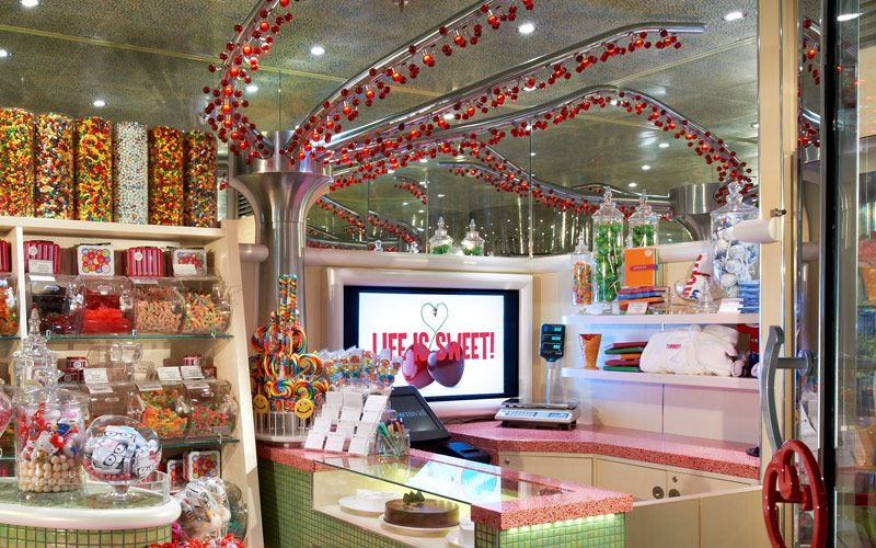 Cherry On Top Candy Shop Carnival Legend Pinterest Carnival - Best rooms on a cruise ship carnival