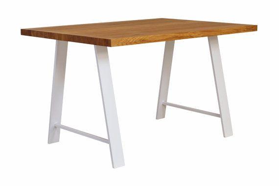Metall Esstisch Beine Set 2 Tischbeine Weisse Moderne Tischbeine