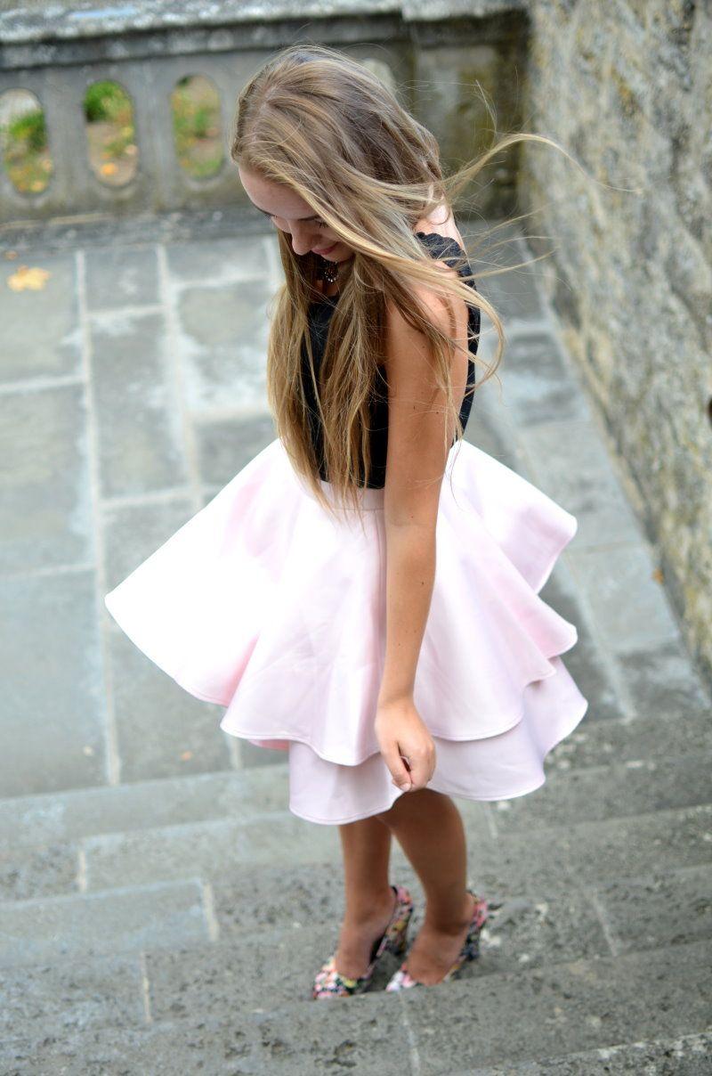 PRIMA BALLERINA - Vintage life en Vogue - Summer style - pink skirt - floral - chic - elegant