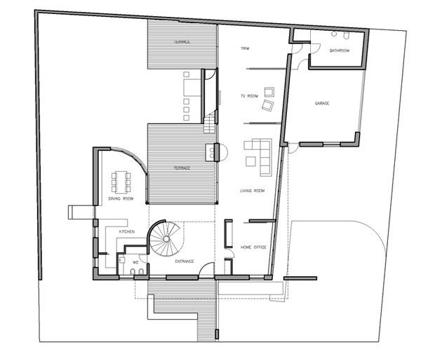modern family house plans images