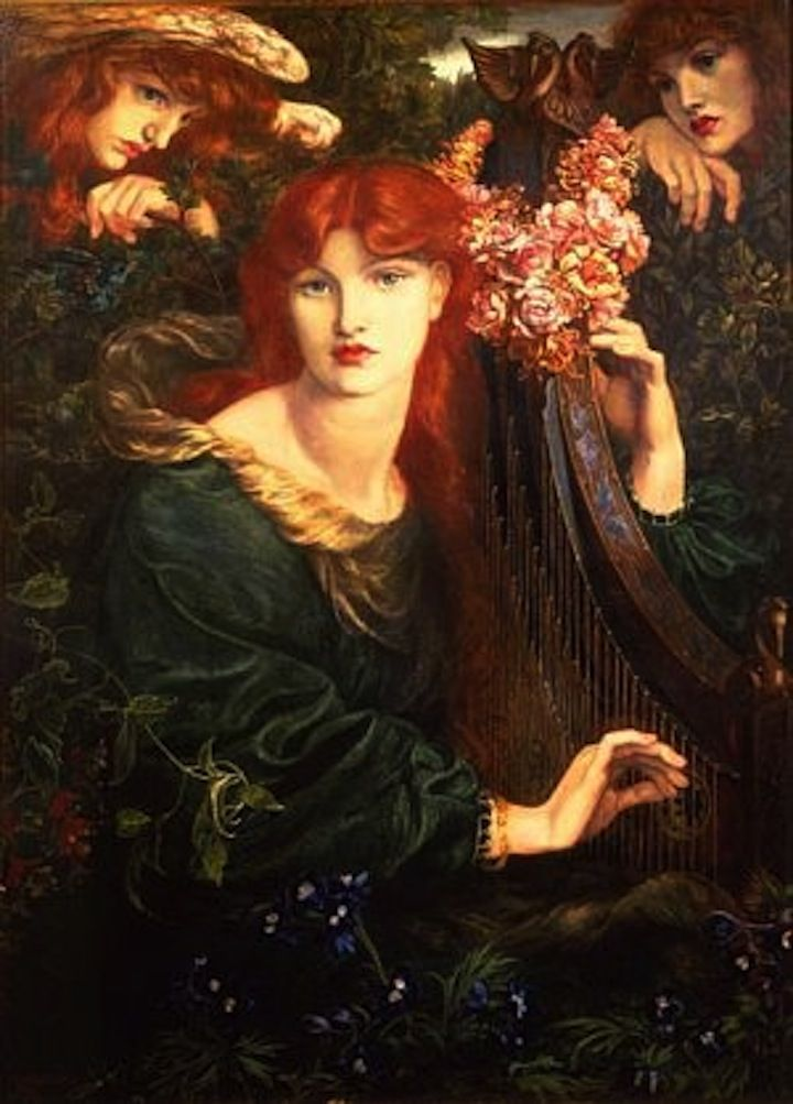 Redheads There Now You Re Listening Pre Raphaelite Paintings