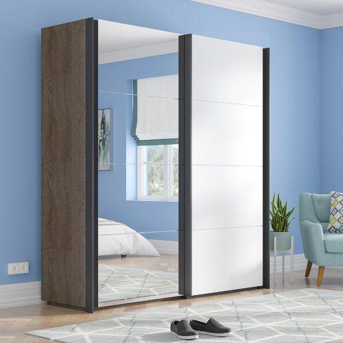 Brayden Studio Gengler 2 Door Wardrobe 2 Door Wardrobe 3 Door Sliding Wardrobe 4 Door Wardrobe
