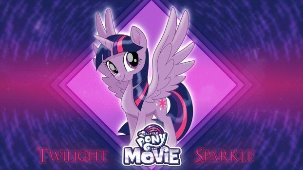 Mlp Movie Wallpaper Twilight Sparkle By Thedarksatanicorn