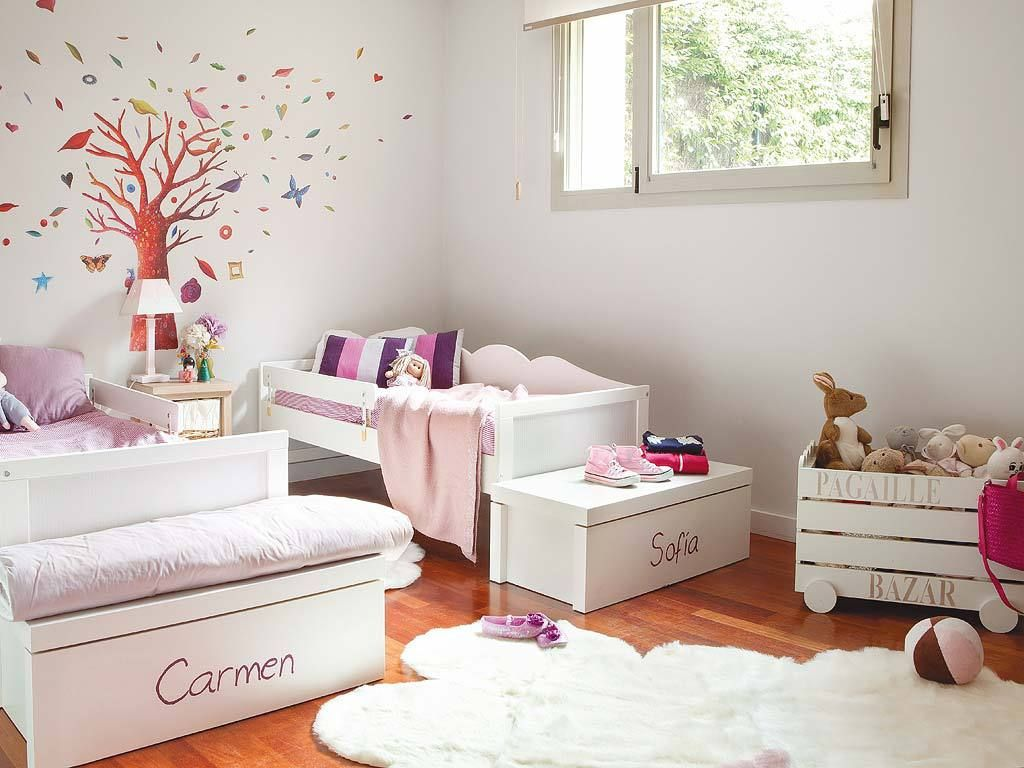 Bedroom For Two Girls Pink But Not Too Much Projets Essayer