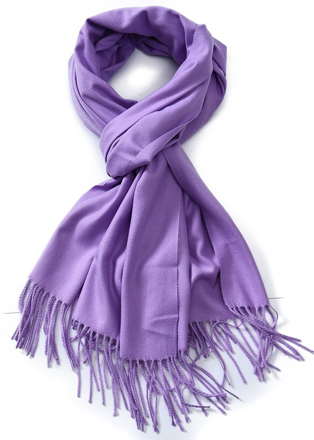 707c595e895 Cindy & Wendy Large Soft Cashmere Feel Pashmina Solid Shawl Wrap ...