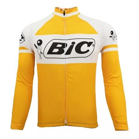 This best-selling replica shirt of the famous Bic cycling team has found  favor with dedicated. 57f78b944